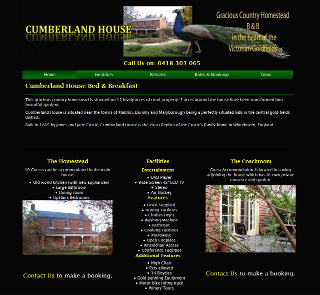 Cumberland House Bed & Breakfast